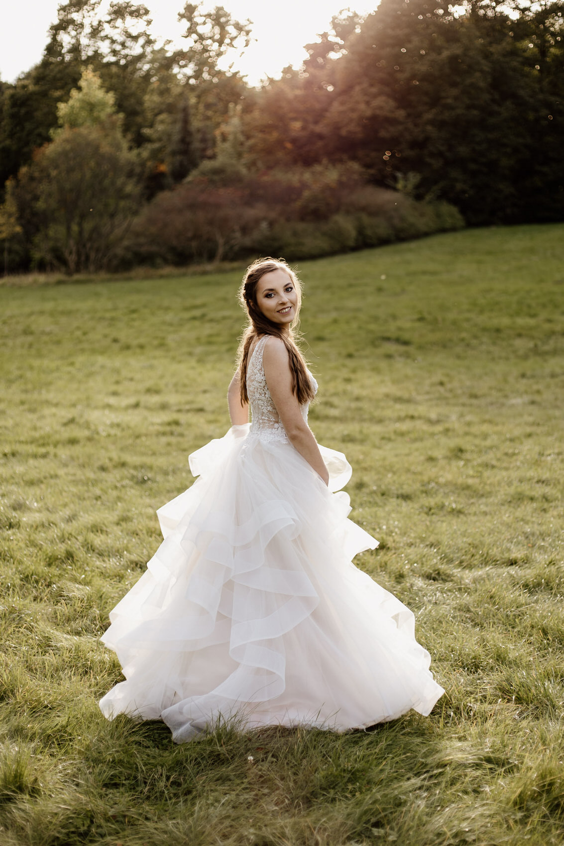 Sesja poślubna w stylu glamur