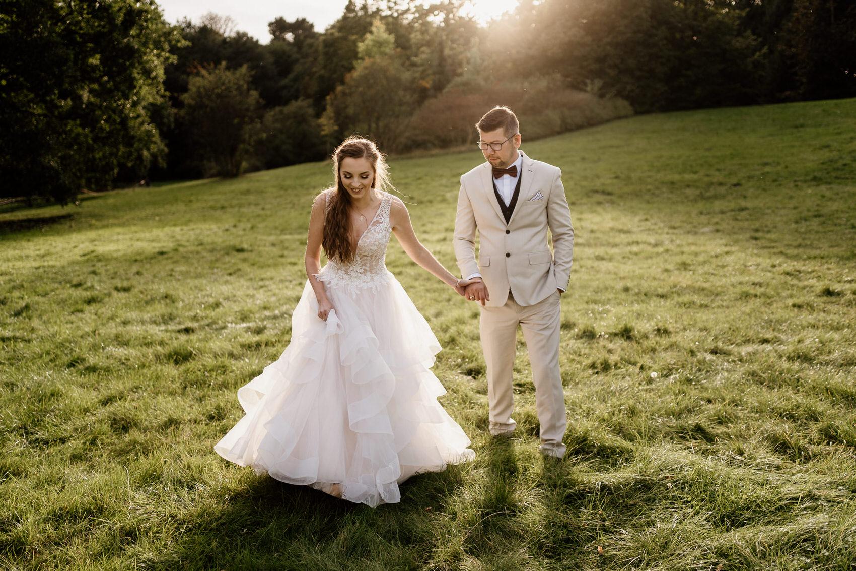 Sesja poślubna w pałacu ostromecko