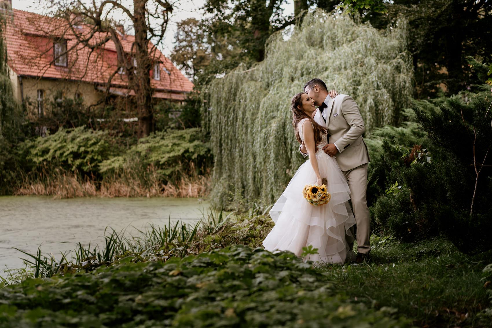 Sesja poślubna w Ostromecku