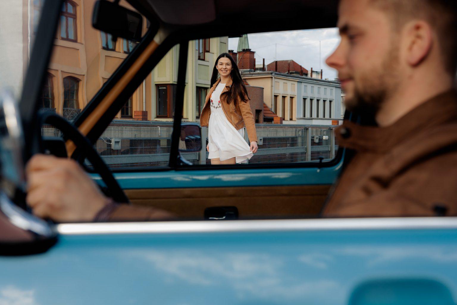 sesja z autem Bydgoszcz
