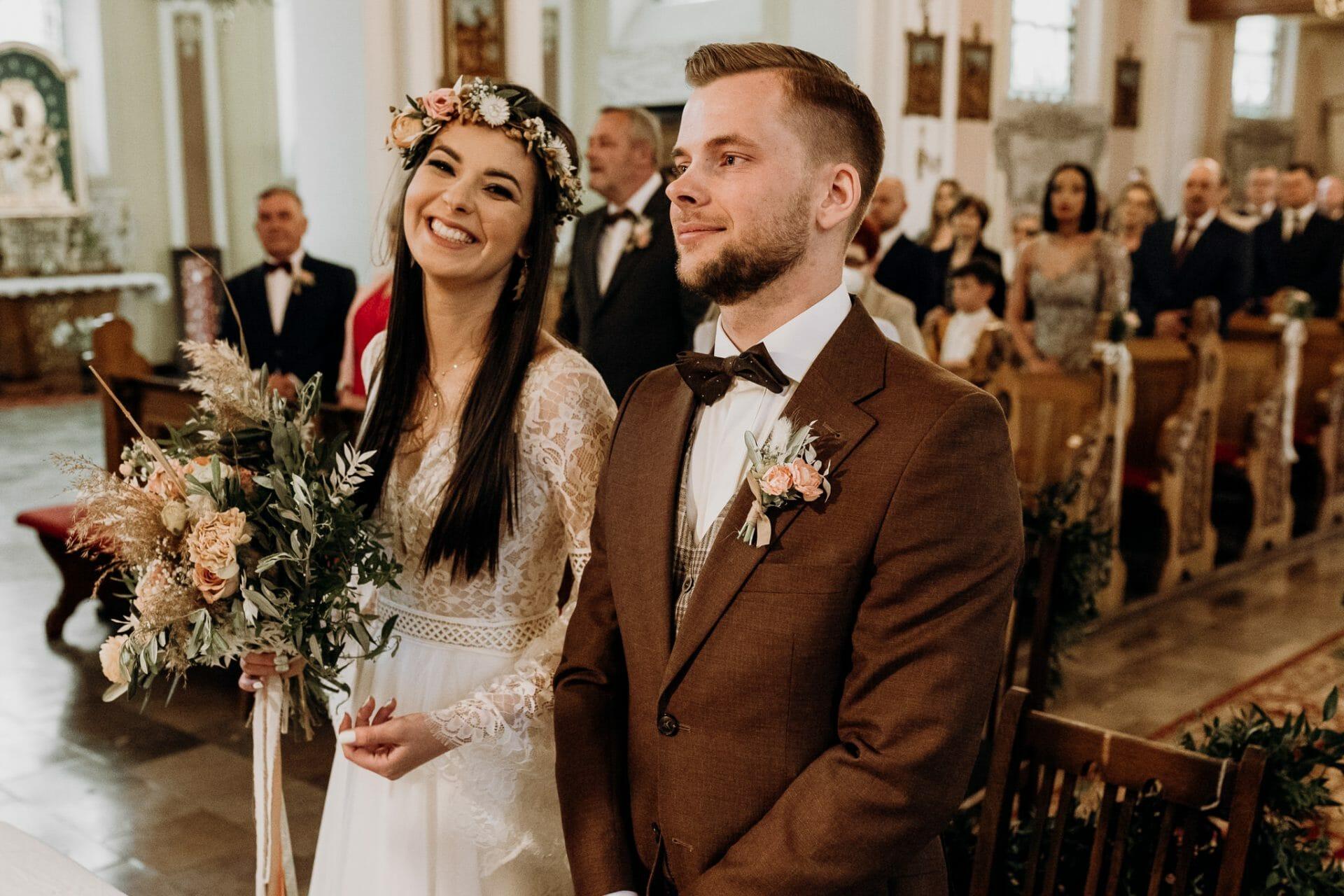 Ślub w Witkowie, parafia św. Mikołaja